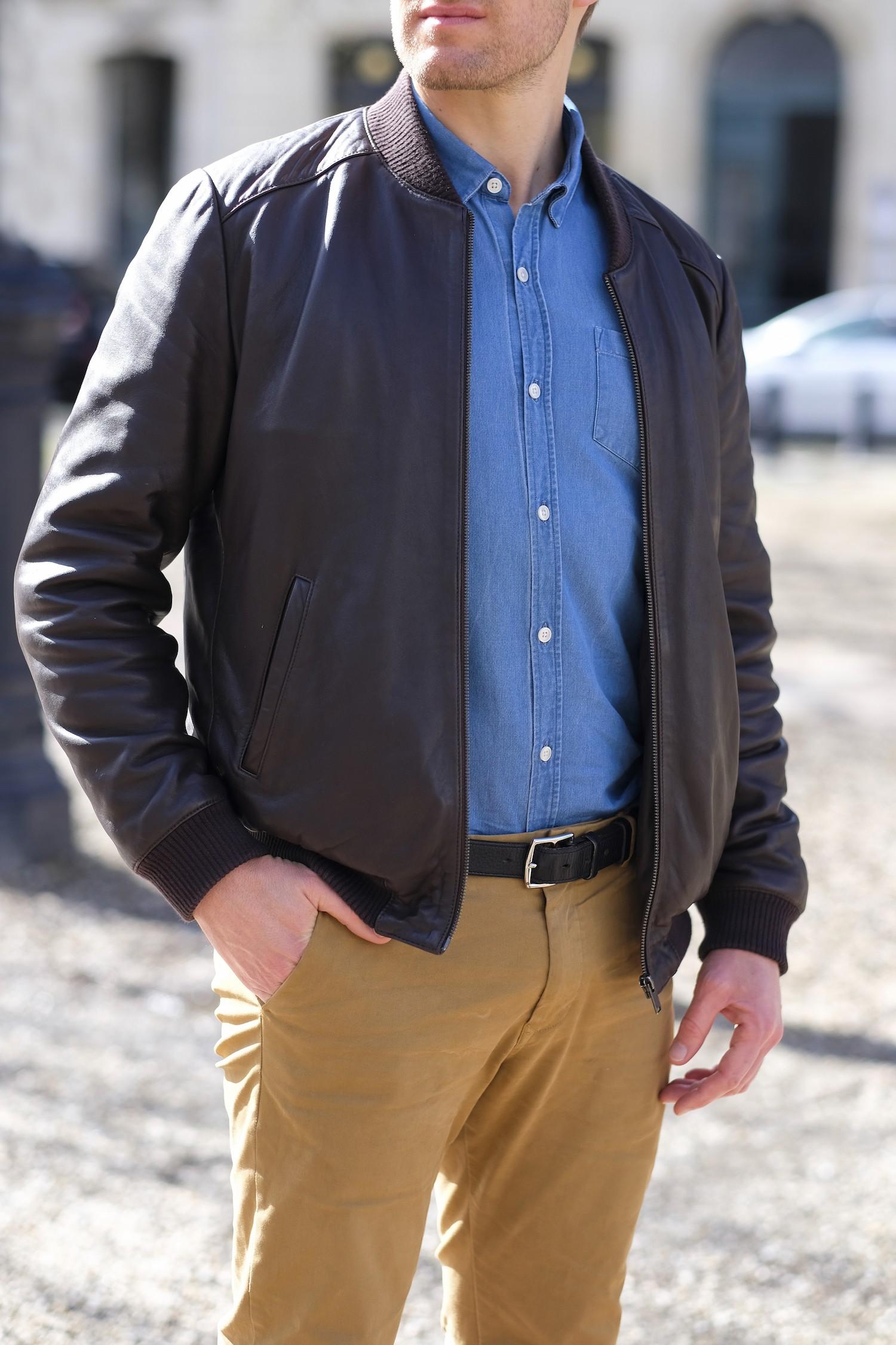 cuir et chemise Balibaris