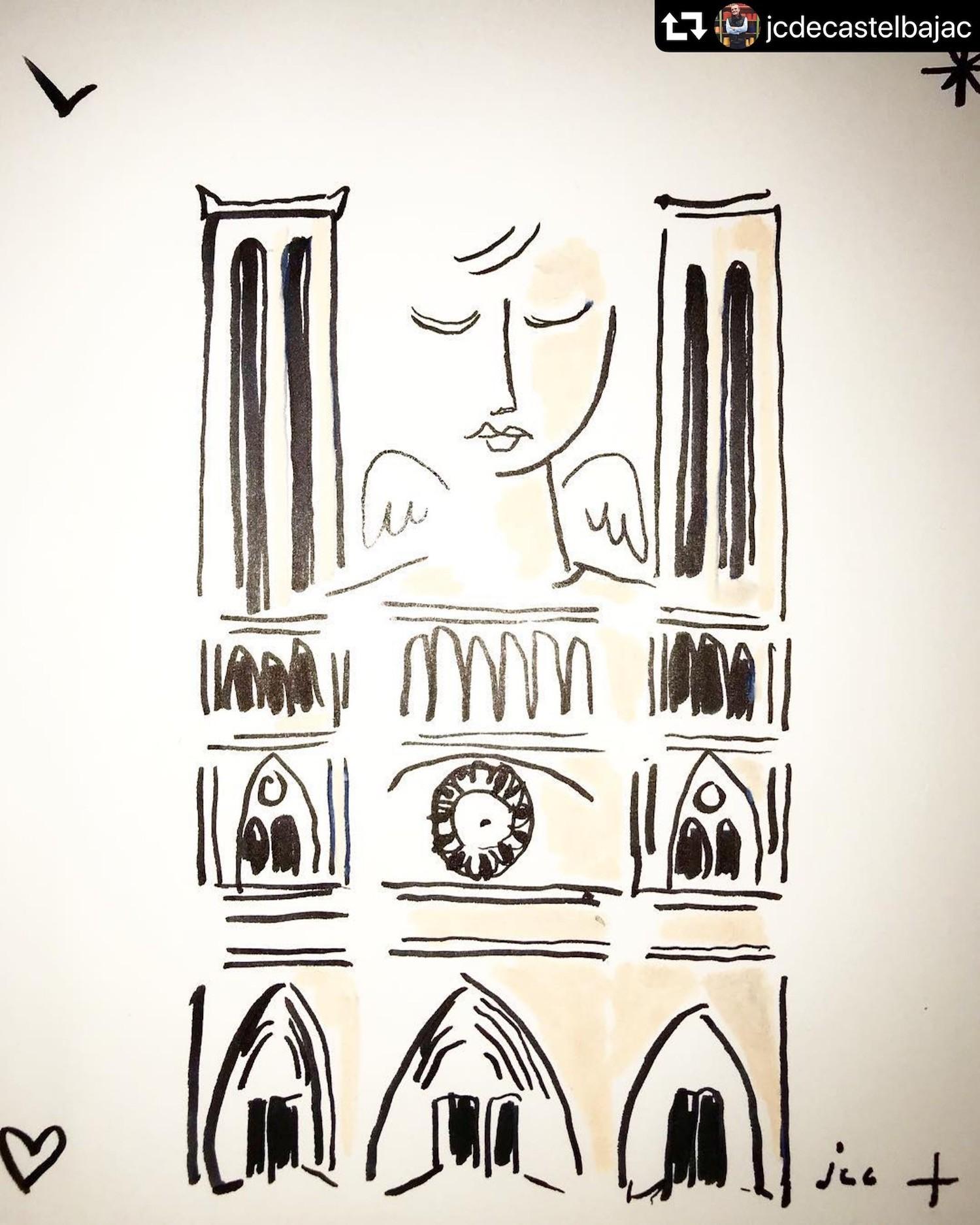 JC CASTELBAJAC NOTRE DAME DE PARIS