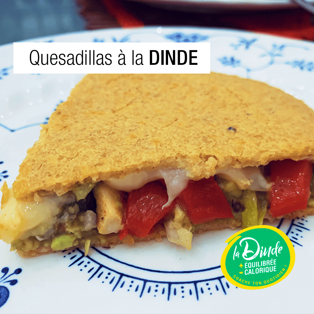 Quesadillas au filet de dinde